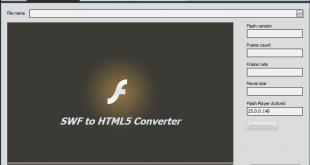برنامج تحويل الفلاش الى html5