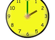برنامج تعليم الساعة للاطفال