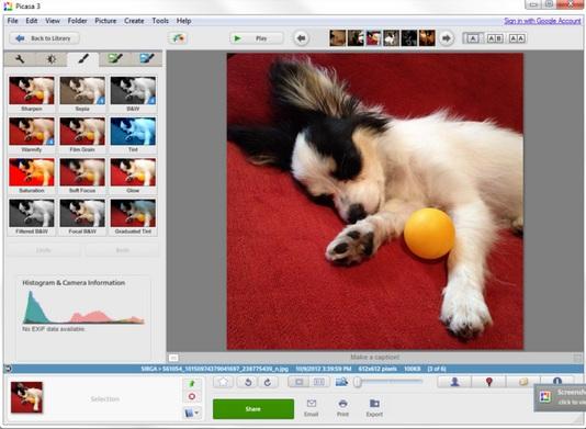 تحميل برنامج بيكاسا لتعديل الصور