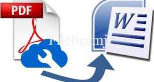 تحميل برنامج تحويل pdf الى وورد