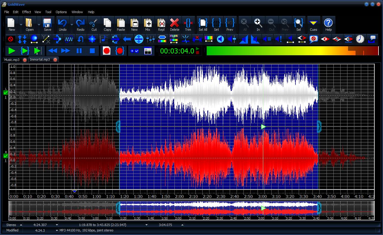 تحميل برنامج جولد ويف لتقطيع الاغاني