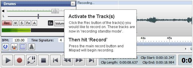 تحميل برنامج mixpad كامل
