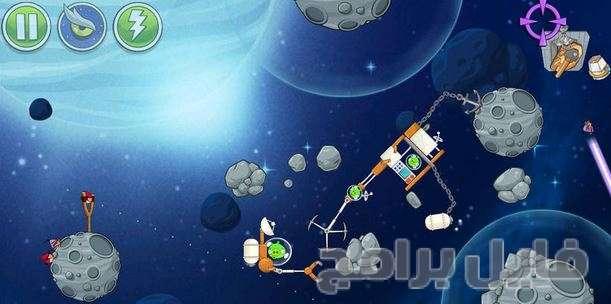 تحميل لعبة الطيور الغاضبة في الفضاء مجانا للكمبيوتر