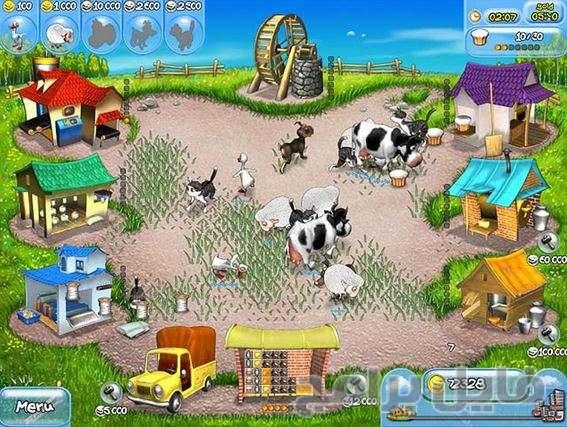 تحميل لعبة farm frenzy 1 كاملة مجانا